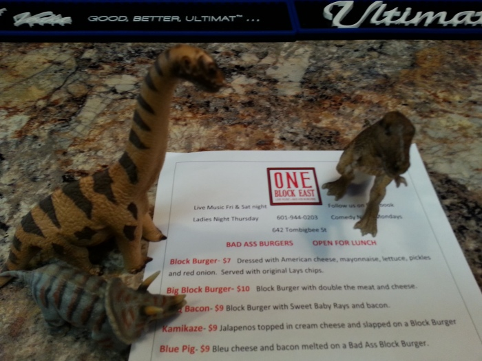 Dinos spotted dining - at One Block East